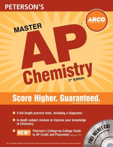 9780768924725: Peterson's Master AP Chemistry