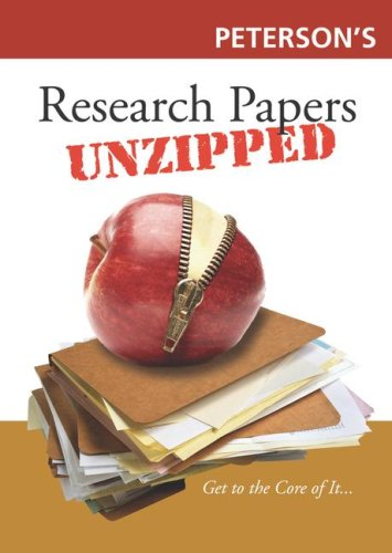 9780768924909: Unzipped! Research Papers, 1st edition (Unzipped Guides)