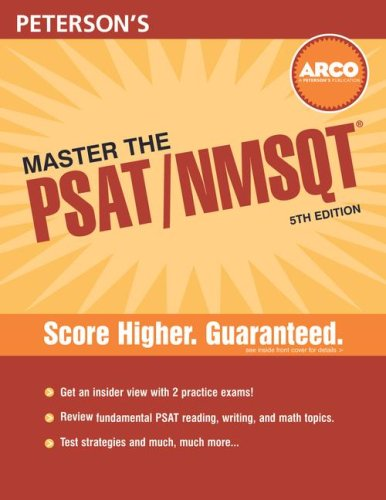 Master the PSAT/NMSQT, 5th Edition (076892510X) by Shirley Tarbell; Byron Demmer