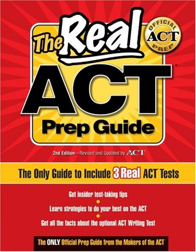 9780768926750: The Real ACT Prep Guide: The Only Guide to Include 3Real ACT Tests