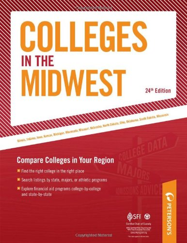 9780768926903: Colleges in the Midwest: Compare Colleges in Your Region (Peterson's Colleges in the Midwest)