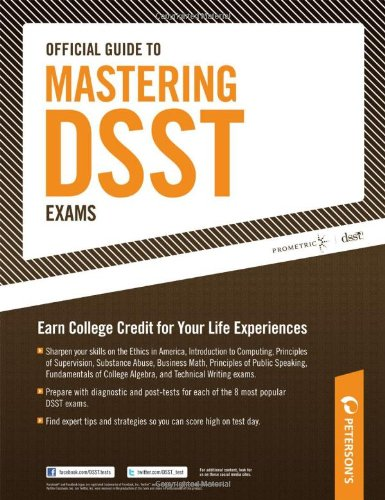 9780768928327: Official Guide to Mastering DSST Exams