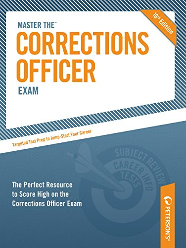 9780768928877: Master the Corrections Officer Exam (Peterson's Master the Correction Officer)