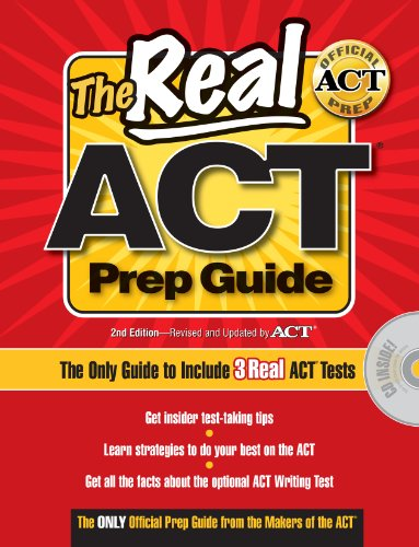 9780768931402: Real ACT Prep Guide with CD-Rom (Real ACT Prep Guide (W/CD))