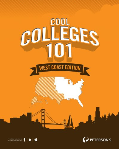 9780768932621: Cool Colleges 101: West Coast Edition (Peterson's Cool Colleges 101: West Coast)