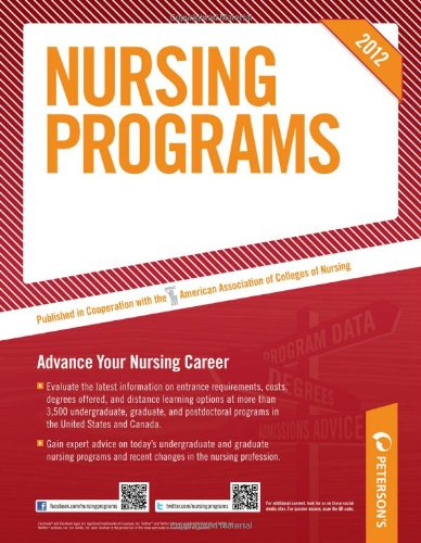9780768932775: Nursing Programs 2012 (Peterson's Nursing Programs)