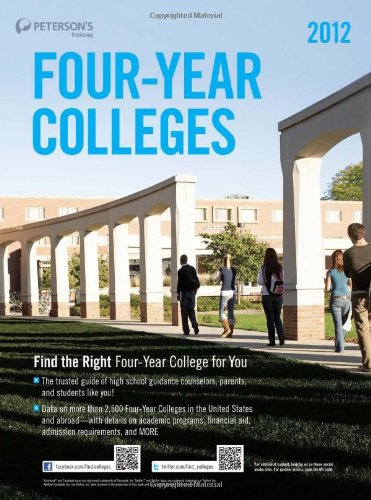 9780768932799: Four-Year Colleges 2012 (Peterson's Four-Year Colleges)