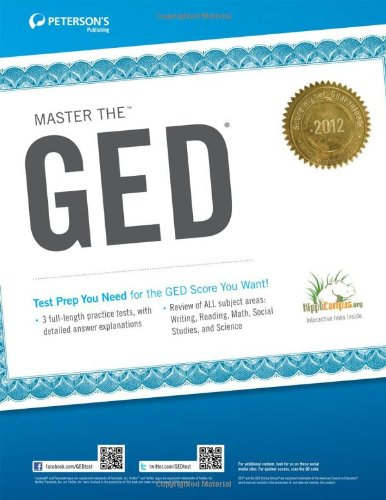 9780768932911: Master the GED 2012 (Peterson's Master the GED)