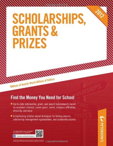 9780768932935: Scholarships, Grants & Prizes 2012 (Peterson's Scholarships, Grants & Prizes)