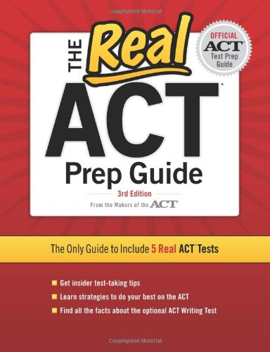 9780768934328: The Real ACT, 3rd Edition (Real ACT Prep Guide)