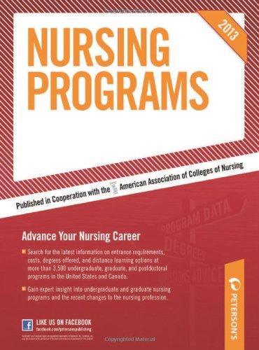 9780768936179: Nursing Programs 2013