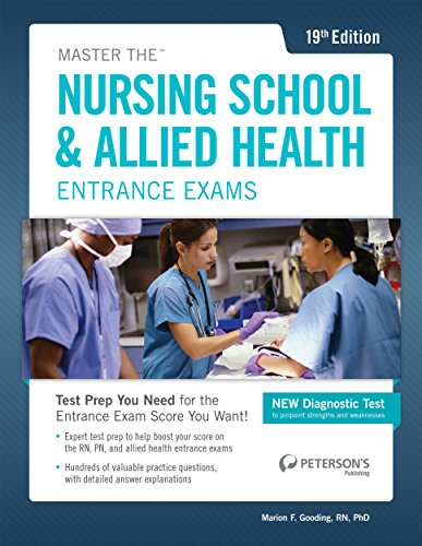 Master the Nursing School & Allied Health: Peterson's