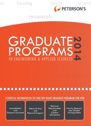 9780768937718: Graduate Programs in Engineering & Applied Sciences 2014 (Grad 5) (Peterson's Graduate Programs in Engineering & Applied Sciences)