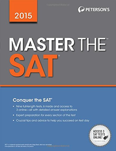 9780768938678: Peterson's Master the Sat 2015