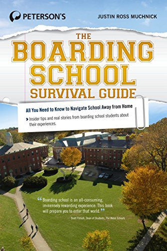 9780768938739: The Boarding School Survival Guide (Peterson's the Boarding School Survival Guide)