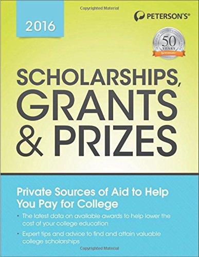 9780768939637: Scholarships, Grants & Prizes 2016 (Peterson's Scholarships, Grants & Prizes)