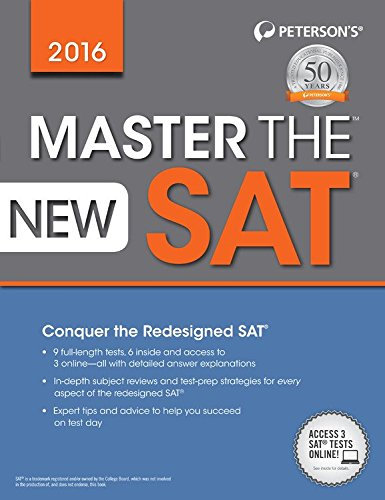 9780768939866: Master the New SAT 2016 (Master the Sat)