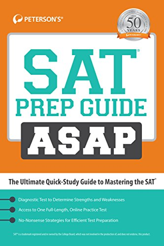 9780768941180: SAT Prep Guide ASAP: The Ultimate Quick Study Guide