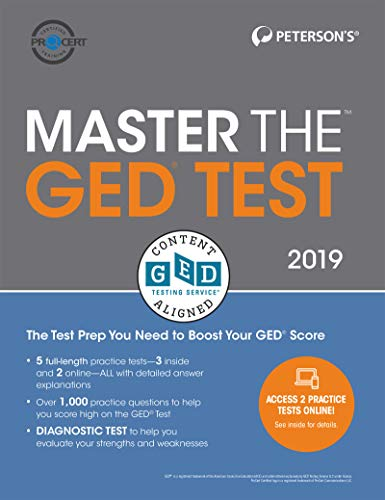 9780768942477: Master the GED Test 2019