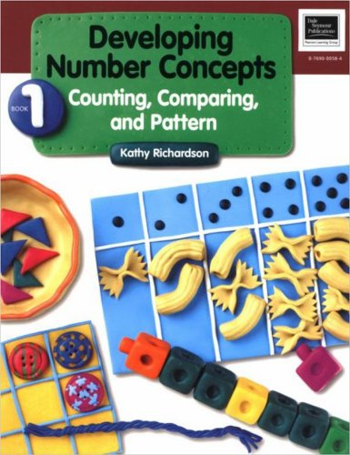 9780769000589: Developing Number Concepts Book 1: Counting Comparing & Pattern Grade K/3 Copyright 1999