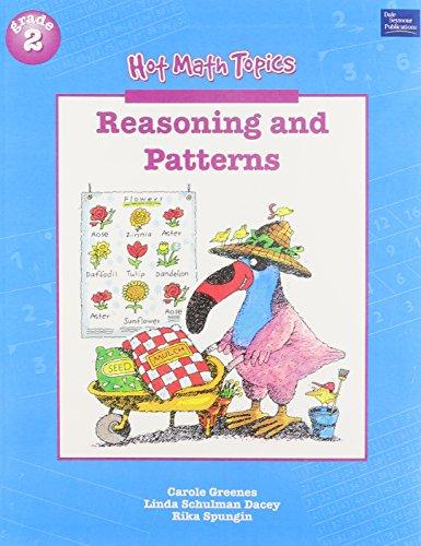 9780769008332: Reasoning and Patterns, Grade 2 (Hot Math Topics)