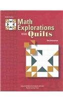 9780769027791: Mathematical Explorations With Quilts