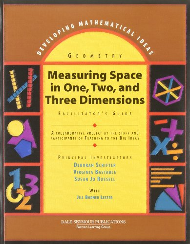 9780769027876: Measuring Space in One, Two and Three Dimensions Casebook: Geometry (Developing Mathematical Ideas series)