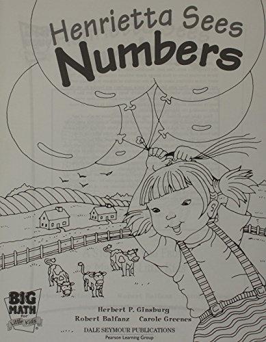 9780769030500: BIG MATH LITTLE KIDS PRE-KINDERGARTEN STUDENT BOOK 1 HENRIETTA FIVE PACK 2003 (Big Math for Little Kids)
