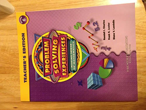Dale Seymour Publications Problem Solving Experiences: Making
