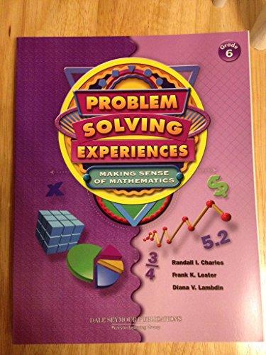 Problem Solving Experiences - Making Sense of: Frank Lester Randall