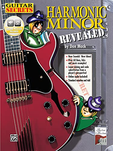 9780769200293: Guitar Secrets: Harmonic Minor Revealed, Book & CD