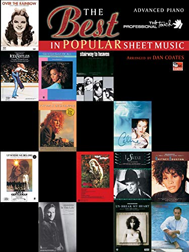 9780769200316: The Best in Popular Sheet Music (The Professional Touch)