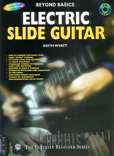 9780769200361: Beyond Basics: Electric Slide Guitar (Book & CD)