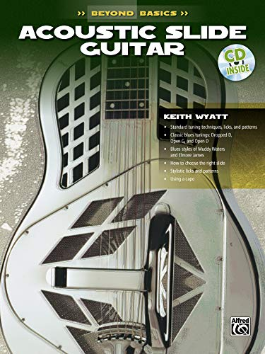 9780769200378: Beyond Basics: Acoustic Slide Guitar, Book & CD [With CD] (Ultimate Beginner Series)