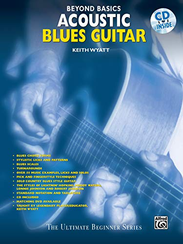 9780769200385: Beyond Basics: Acoustic Blues Guitar, Book & CD