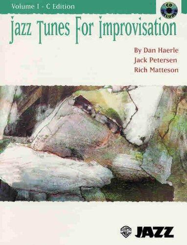 9780769201269: Jazz Tunes for Improvisation, Vol 1: Book & CD