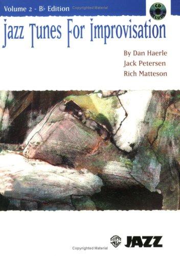 Jazz Tunes for Improvisation, Vol 2: B-flat, Book & CD: Dan Haerle