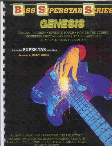 9780769205229: Genesis -- Bass Superstar (Bass Superstar Series)