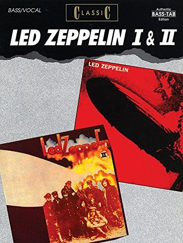 9780769205540: Classic Led Zeppelin I & II: Authentic Bass Tab