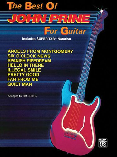 Best Of John Prine For Guitar includes: Prine, John