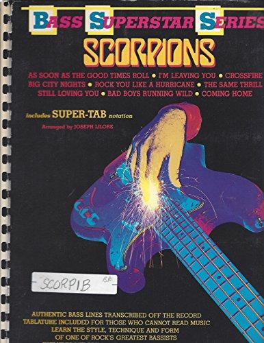 9780769206141: Scorpions -- Bass Superstar (Bass Superstar Series)