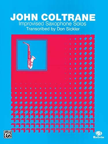 9780769207445: Improvised Saxophone Solos: Tenor Saxophone