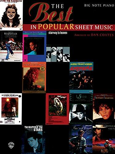 9780769207865: The Best in Popular Sheet Music