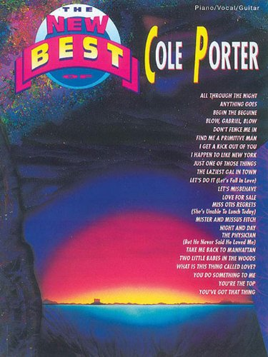 9780769209166: The New Best of Cole Porter: Piano/Vocal/Guitar (The New Best of. series)