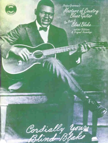 9780769209630: Masters of Country Blues Guitar: Blind Blake (Book & CD)