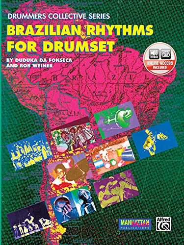 9780769209876: Brazilian Rhythms Drumset +CD (Manhattan Music Publications - Drummers Collective)