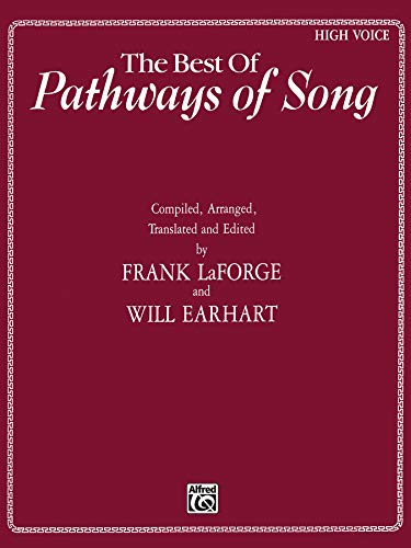9780769210643: The Best of Pathways of Song: High Voice (Pathways of Song Series)