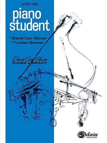 9780769212364: Piano Student: Level 1 (David Carr Glover Piano Library)