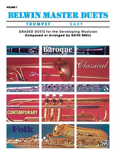 9780769212456: Belwin Master Duets (Trumpet), Vol 1: Easy