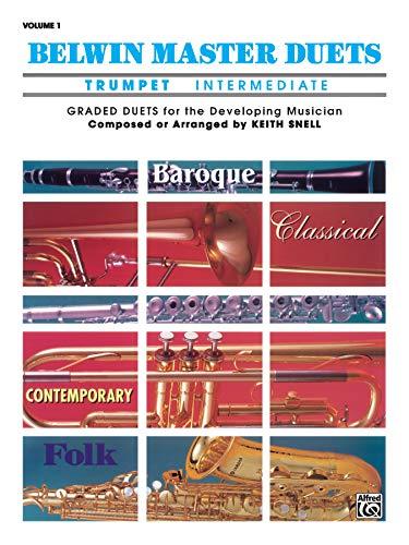 9780769212463: Belwin Master Duets (Trumpet), Vol 1: Intermediate